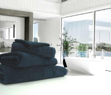 Great Quality Blue Label, 500gsm Bath Towel in Navy